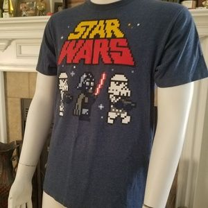 Star Wars 8 Bit Short Sleeve Tee